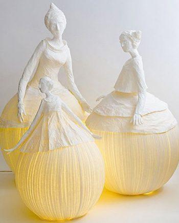 Mademoiselle sculptures