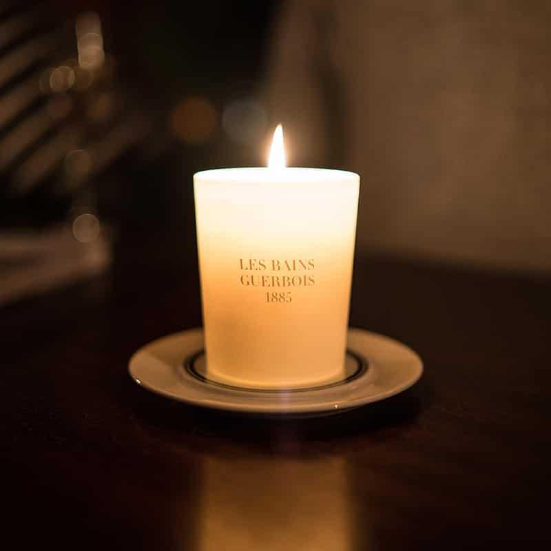 les bains candle